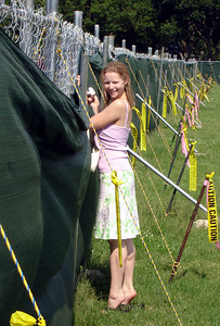 Are those caution signs for Emily or the construction site - Washington D.C. ... May 27, 2005 ... Photo by Rob Page III