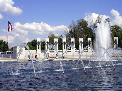 The World War II Memorial - Washington D.C. ... May 27, 2005 ... Photo by Rob Page III
