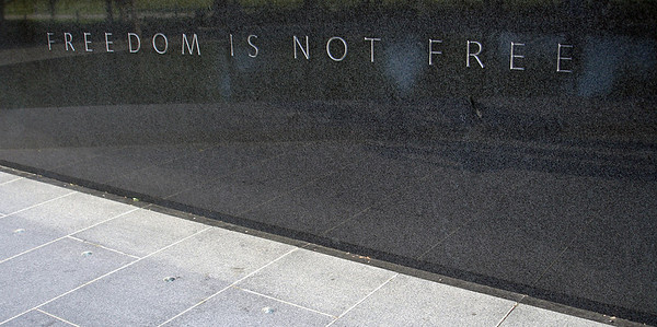 Freedom is not Free - Washington D.C. ... May 27, 2005 ... Photo by Rob Page III
