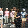 Viewing the Vietnam Memorial