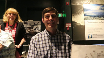 Brian T. Huber Curator of Planktic Foraminifera and Department Chairman