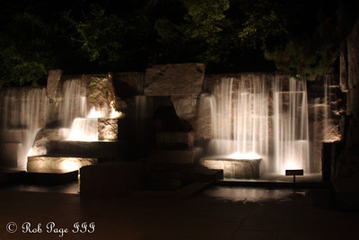 Waterfalls at the FDR Memorials - Washington, DC ... April 30, 2012 ... Photo by Rob Page III