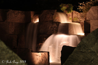 Waterfalls at the FDR Memorial - Washington, DC ... April 30, 2012 ... Photo by Rob Page III