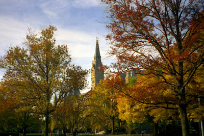 Georgetown University - Washington, DC ... October 2002 ... Photo by Rob Page III