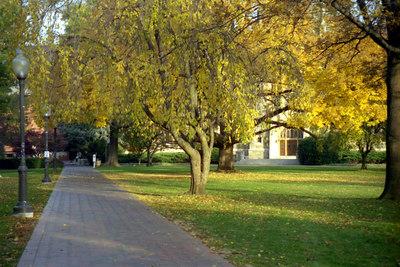 Copley Lawn - Washington, DC ... October 2002 ... Photo by Rob Page III