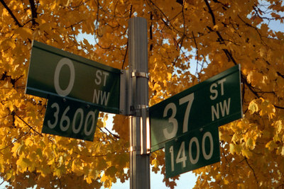 """37th & O"" - Washington, DC ... October 2002 ... Photo by Rob Page III  There is an 8x10 crop of this image at the end of the gallery."