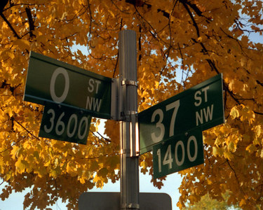 """37th & O""  - Washington, DC ... October 2002 ... Photo by Rob Page III"