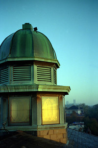 The roof of LXR. ... October 2003
