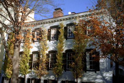 A Georgetown residence in autumn - Georgetown, DC ... October 2004 ... Photo by Rob Page III