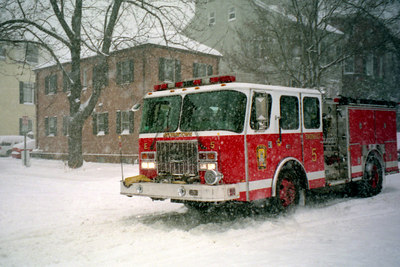 Georgetown in the snow - Washington DC ... February 2003 ... Photo by Rob Page IIII