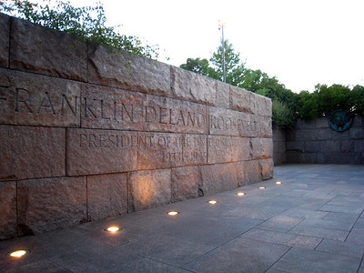 Franklin Roosevelt Memorial