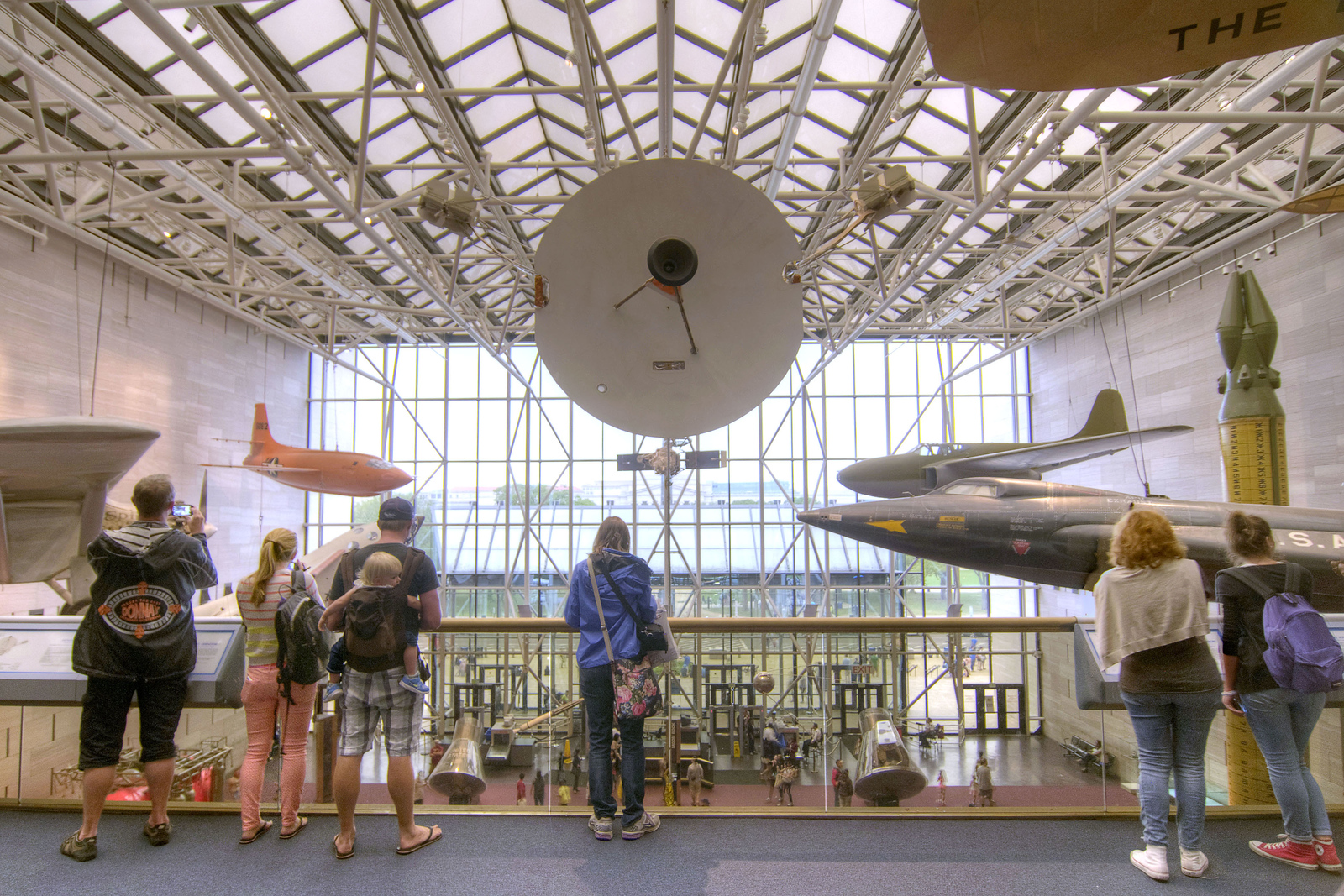 Flying High At The Smithsonian National Air And Space Museum In