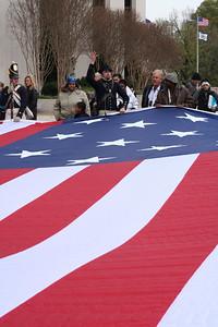 Folding Our Flag
