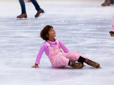 Naomi (age 6) takes a spilll