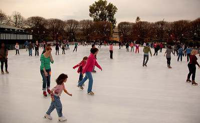 The Ice Rink at the National Gallery of Art's Sculpture Garden celebrates its opening weekend. The rink, at 7th Street and Constitution Ave. NW, is in its 13th season and will remain open until March 11 (as long as it stays cold enough).
