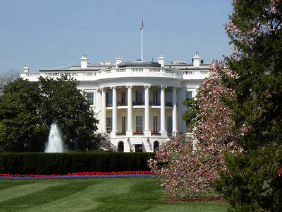 The White House - Washington, DC ... April 10, 2006 ... Photo by Rob Page III