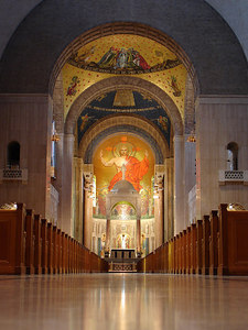 The Basilica of the National Shrine of the Immaculate Conception - Washington, DC ... April 11, 2006 ... Photo by Rob Page III