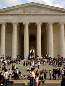 The Jefferson Memorial - Washington, DC ... April 1, 2006