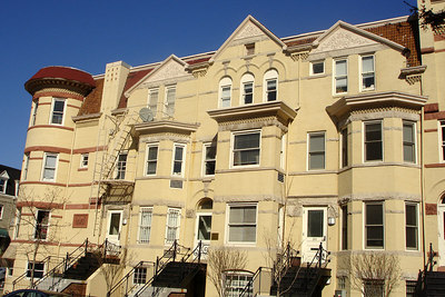 An older building in Dupont Circle - Washington, DC ... March 30, 2007 ... Photo by Rob Page III