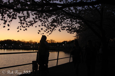 Sunset - Washington, DC ... April 2, 2007 ... Photo by Rob Page III