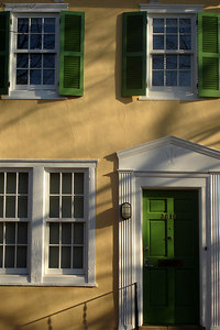 A colorful Georgetown townhouse - Washington, DC ... March 25, 2007 ... Photo by Rob Page III