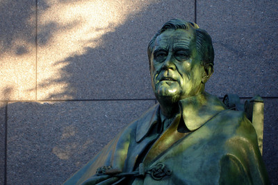 The FDR Memorial - Washington, DC ... April 2, 2007 ... Photo by Rob Page III