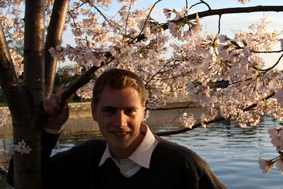 Hanging out by the cherry blossoms - Washington, DC ... April 2, 2008 ... Photo by Emily Conger