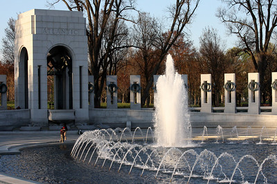 Down at the World War II Memorial - Washington, DC ... April 2, 2008 ... Photo by Rob Page III