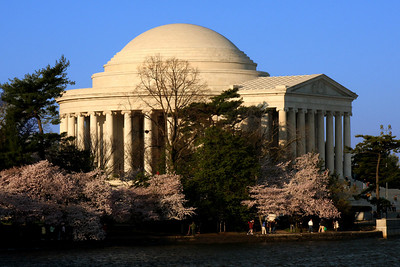 The Jefferson Memorial - Washington, DC ... April 4, 2009 ... Photo by Rob Page III