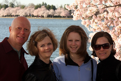 The Conger family - Washington, DC ... April 4, 2009 ... Photo by Rob Page III