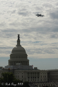 Discovery graces the Capitol - Washington, DC ... April 17, 2012 ... Photo by Rob Page III