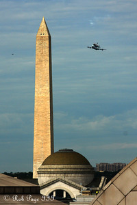Discovery heads down the National Mall - Washington, DC ... April 17, 2012 ... Photo by Rob Page III