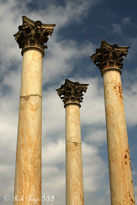 Columns at the National Arboretum - Washington, DC ... April 1, 2012 ... Photo by Rob Page III
