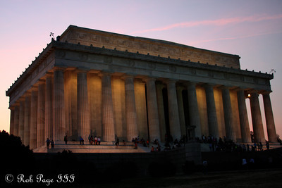 The Lincoln Memorial - Washington, DC ... March 22, 2012 ... Photo by Rob Page III