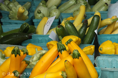 Fresh produce at the Mt. Pleasant market - Washington, DC ... July 12, 2008 ... Photo by Emily Page