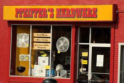 The local hardware store - Washington, DC ... July 27, 2008 ... Photo by Rob Page III