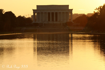 The Lincoln Memorial - Washington, DC ... September 1, 2009 ... Photo by Rob Page III