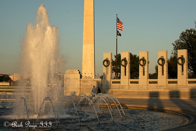 The Washington Monument and the World War II Memorial - Washington, DC ... September 1, 2009 ... Photo by Rob Page III