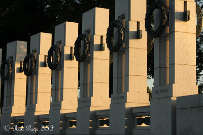 The World War II Memorial - Washington, DC ... September 1, 2009 ... Photo by Rob Page III