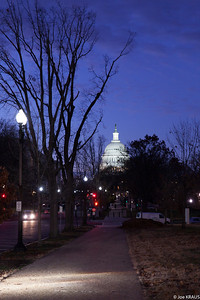 Approaching the Capitol