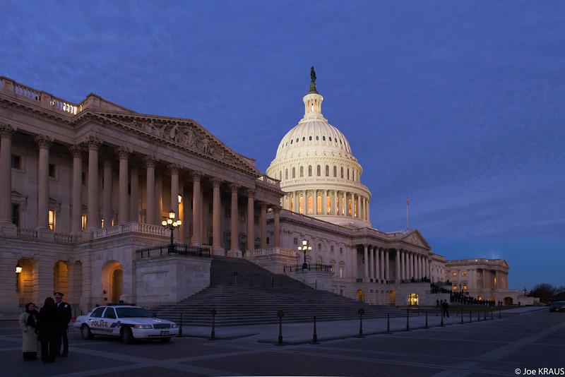 Sunrise Procession into the Capitol