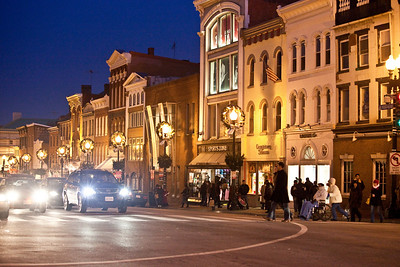 Georgetown at Night (M Street)