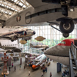 Smithsonian Air and Space Museum in Washington, DC Panorama