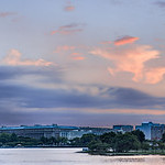 Washington Monument & Jefferson Memorial Sunrise