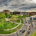 Dupont Circle in Midtown Washington, DC
