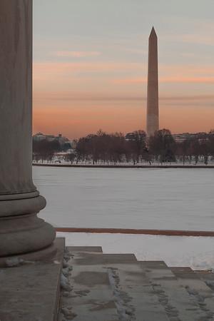 Washington Monument from Jefferson