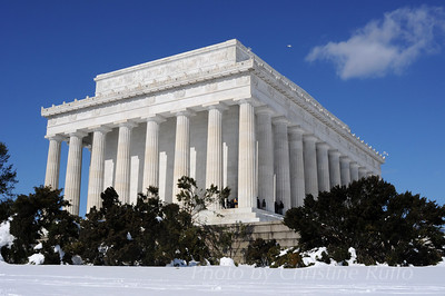 Lincoln Memorial, February 2010