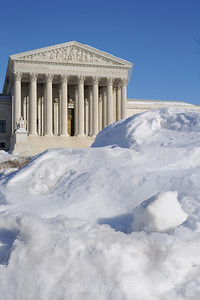 Supreme Court of the United States in snow