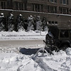 """""""BICICLETTA""""   (BICYCLE)  Trapped in the snow!"""
