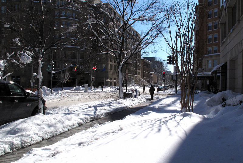 An afternoon walk in DC ... it was a balmy 21 degrees!